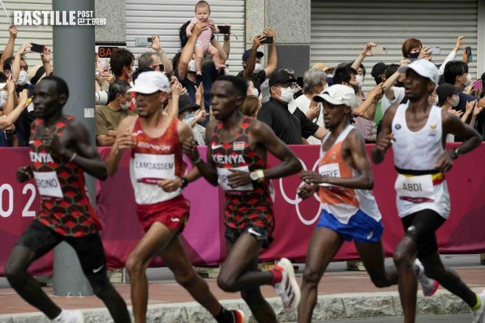 【東奧馬拉松】2小時08分38秒完成 傑祖基成功衛冕馬拉松賽事