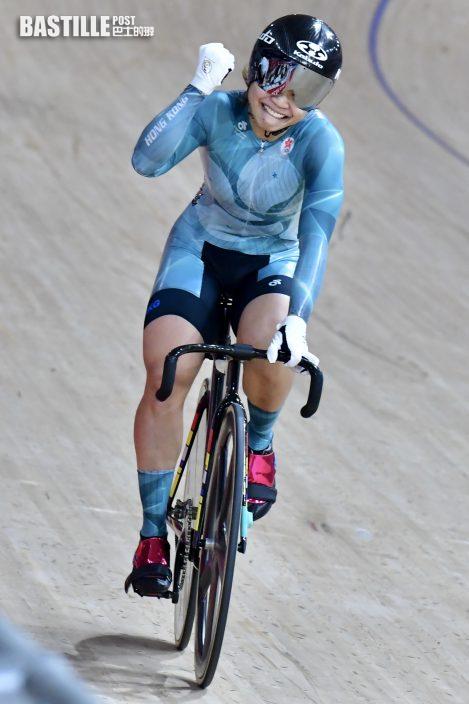 【東奧單車】沈金康感謝市民支持 馬不停蹄飛往上海備戰全運會