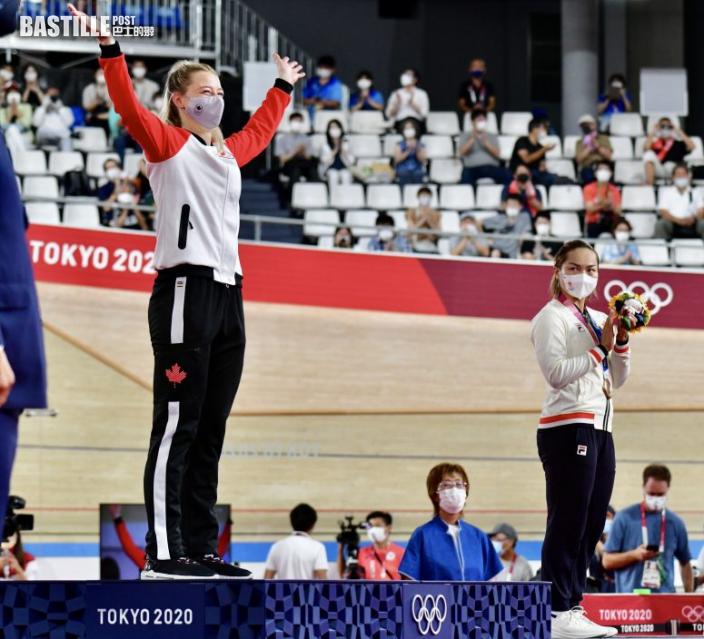 【東奧單車】李慧詩摘走爭先賽銅牌 強調放鬆心態最重要