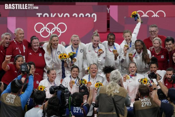 【東奧排球】美國女排橫掃巴西奪金 創隊史首奪奧運冠軍