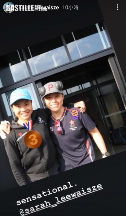 【東京奧運】張家朗李慧詩奧運後回氣 蓄力備戰全運