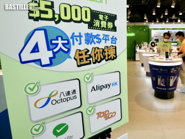 消費券|消委會接獲127宗投訴 近半涉支付平台技術問題