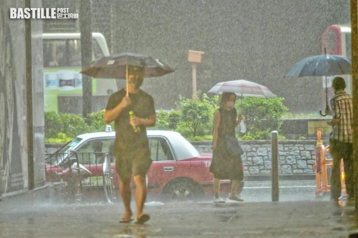 戶外活動注意 周六日顯著降雨機會達「高」