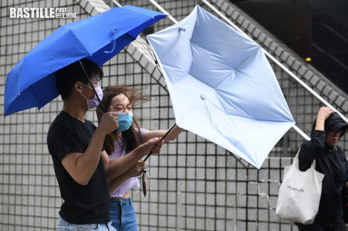 新界東及港島雨量超過20毫米 大帽山氣溫低見16.8度