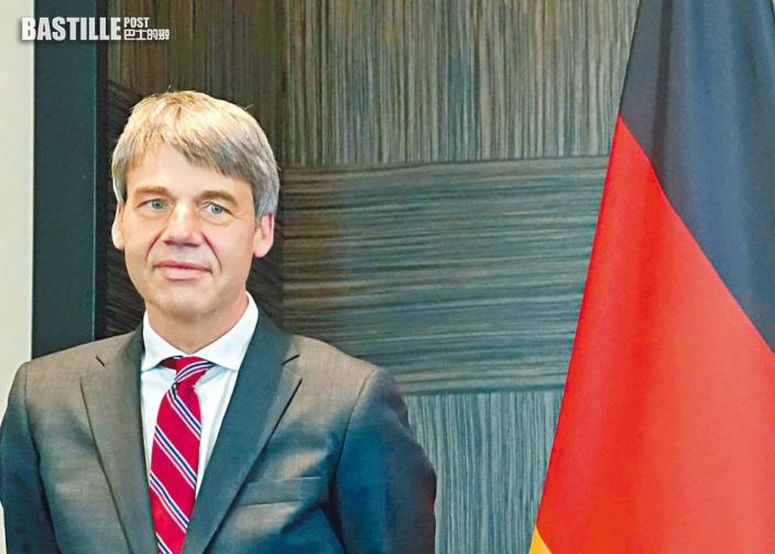 德駐華大使上任兩周突離世