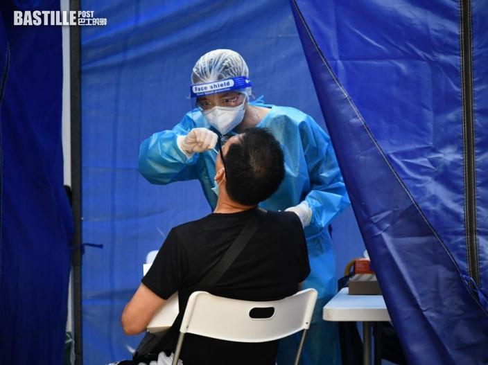 政府宣布明起逐步取消深喉唾液 為強檢採樣方式