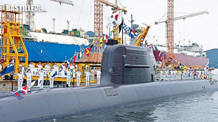 南韓試潛射導彈成功