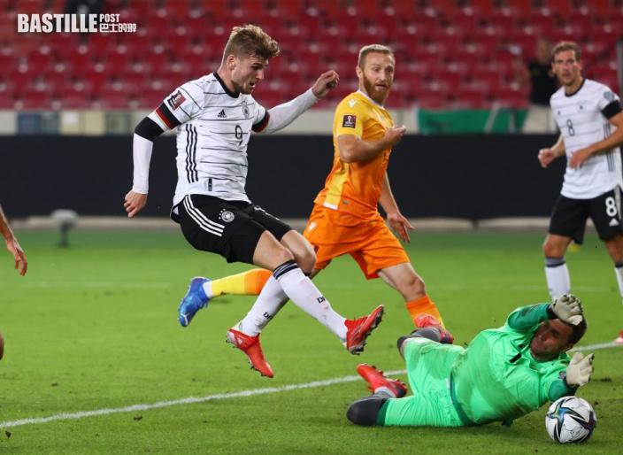 【世盃外】利萊辛尼入球助攻各一 德國作客4:0破冰島