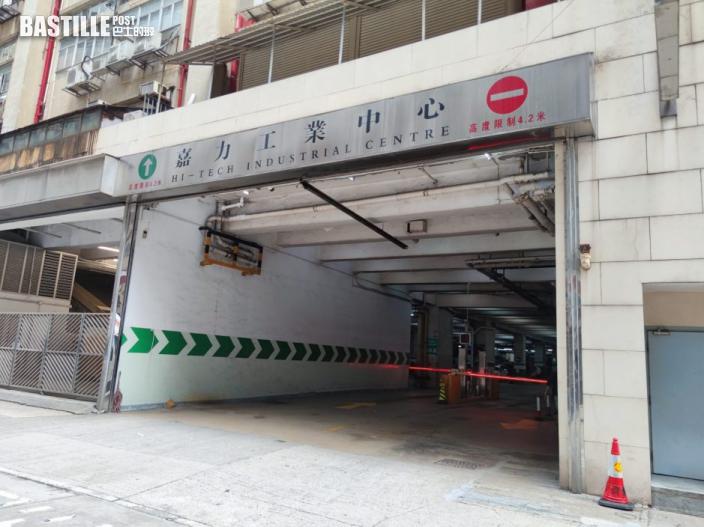 荃灣工廈內貨車撞老婦致頭傷昏迷送院