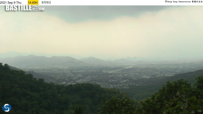 風暴下沉氣流罩港 7區空氣污染達高至甚高