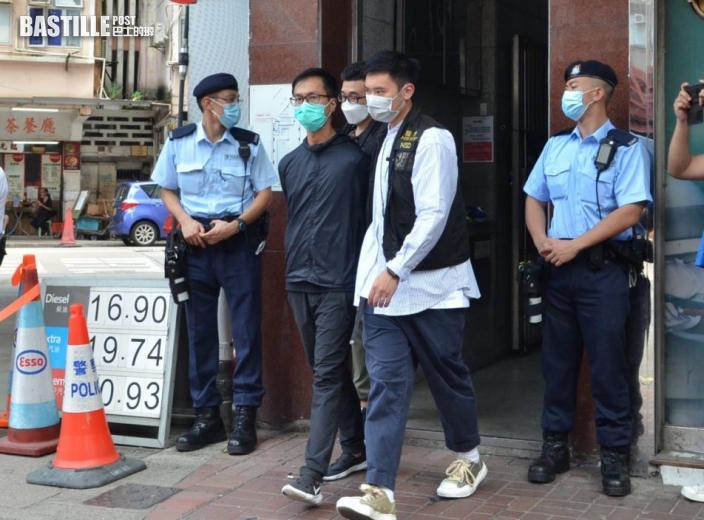 警方國安處派員搜查旺角六四紀念館 檢走多箱證物