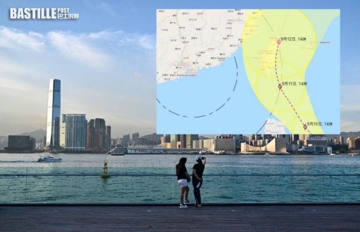 颱風不似預期?天文台料「燦都」北上台灣東岸遠走上海
