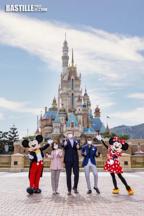 香港迪士尼樂園打破慣例 兩演藝人同任度假區親善大使