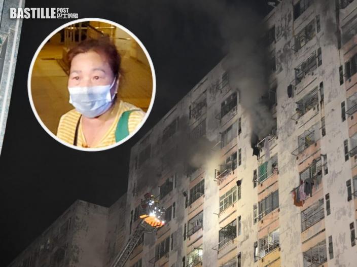 白田邨奪命火|鄰居指起火單位戶主曾與兩男爭執 有人揚言「燒咗成個白田都得」