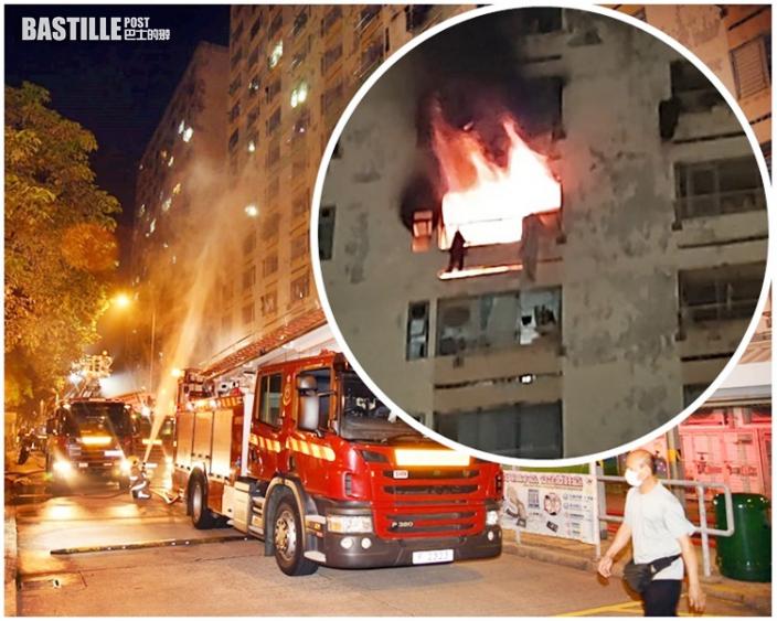 白田邨奪命火|男子疑墮樓亡女子昏迷 消防澄清無水壓問題