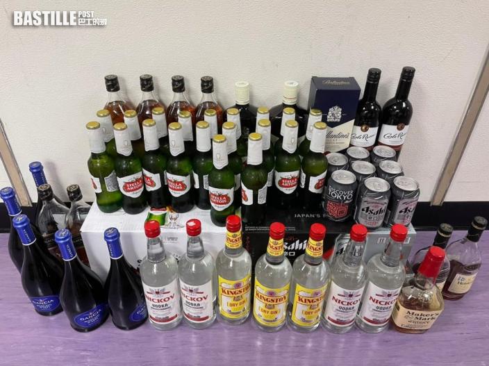 警彌敦道商廈內搗無牌酒吧 14年輕酒客及2負責人被捕
