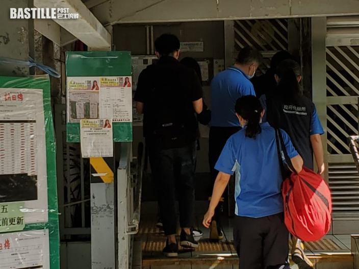 白田邨奪命火|釀1死11傷當局查起火原因 徐英偉到場視察