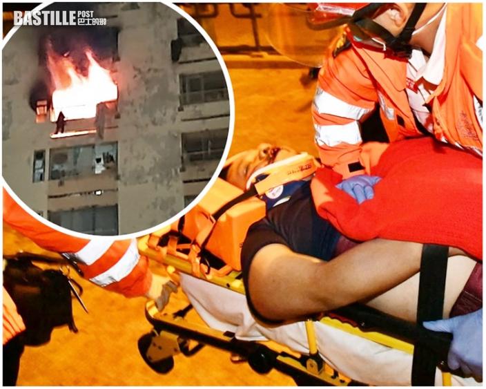 白田邨奪命火|34歲鄰居攀窗逃生墮斃 老父哭訴:佢大把前途