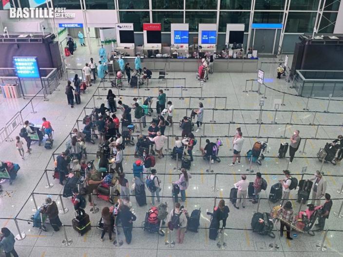 本港今新增5宗輸入個案 2男離港抵英國後確診