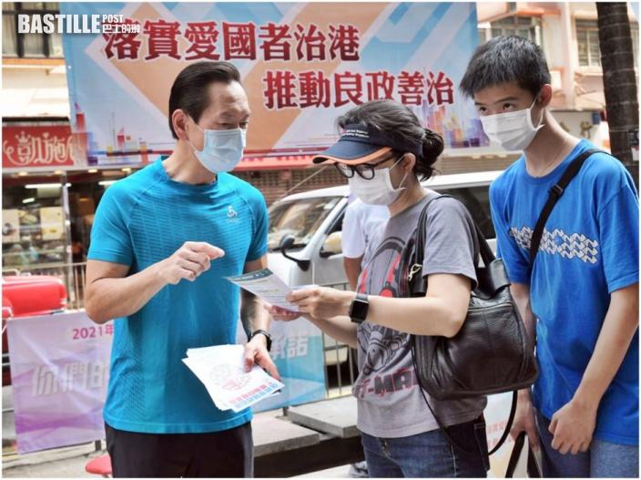 近千選委一連兩日擺街站 宣傳新選舉制度