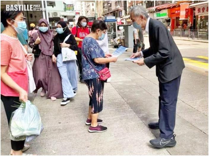 選委一連兩日擺街站 黃志祥:有責任傳遞中央惠港政策