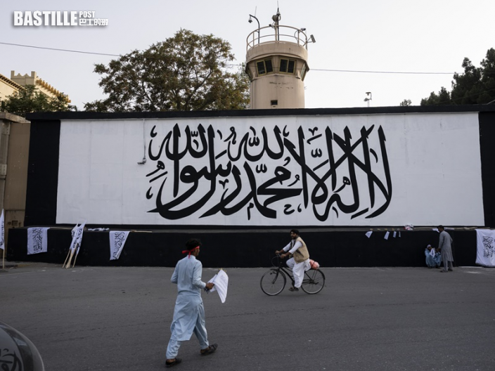 阿富汗總統府升塔利班旗 士兵遭斬首恐怖片段曝光