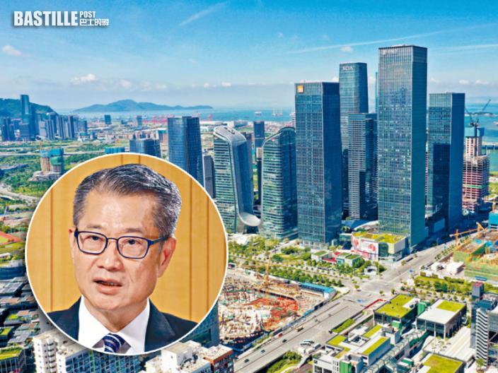 不認同前海發展威脅香港 陳茂波:建設鐵路連接兩地值得研究