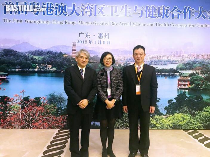 陳肇始:把握大灣區發展機遇 發揮香港醫療產業優勢