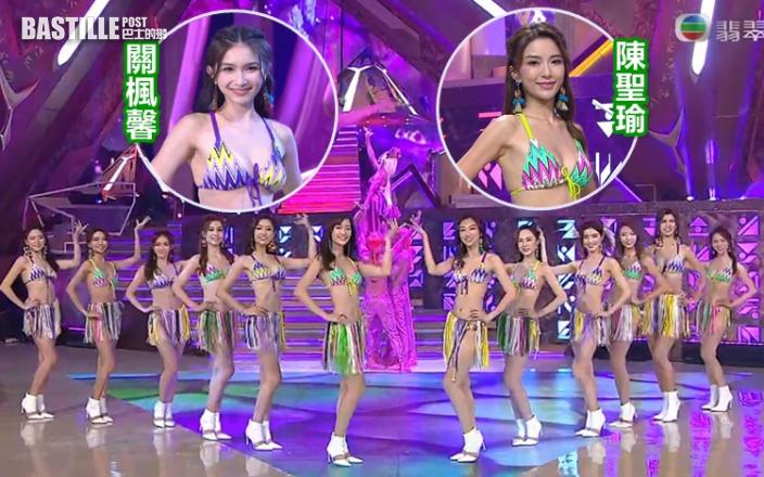 港姐決賽│公布8強名單  大熱關楓馨陳聖瑜成功晉級