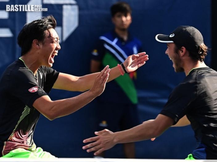 黃澤林奪美網青年組男雙冠軍 父親:支持兒子成為職業球手