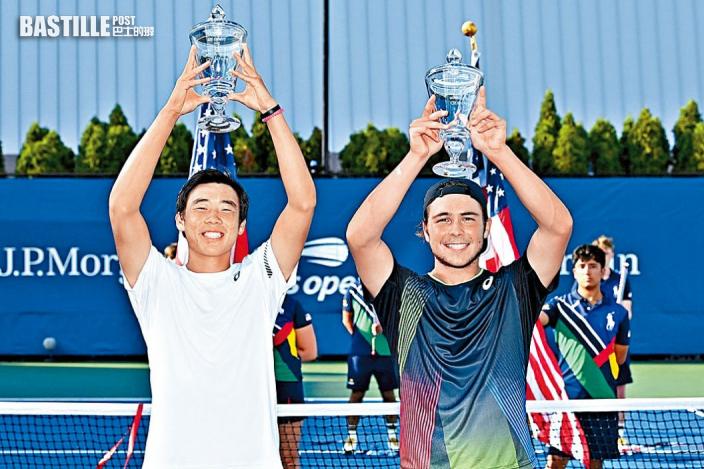 17歲小將黃澤林美網男雙奪冠