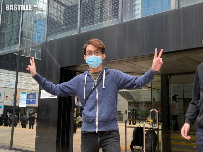 陳皓桓被加控參與未經批准集結 涉前年9.15港島遊行