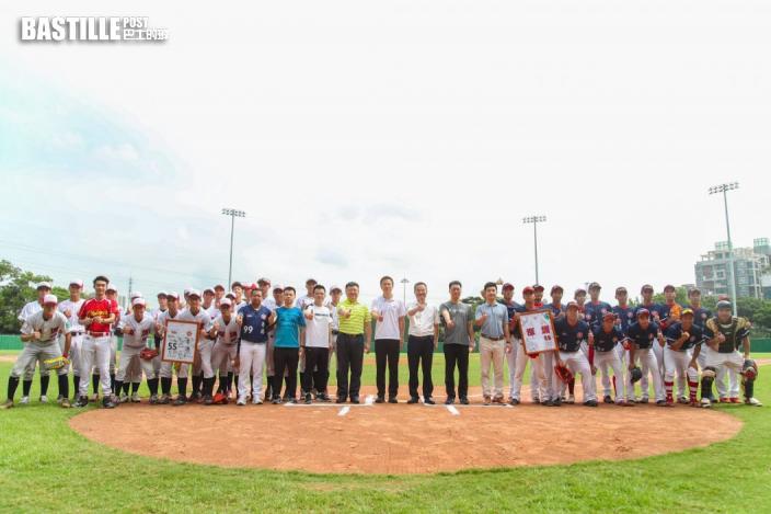 深港青年球員在深圳舉行棒球交流活動