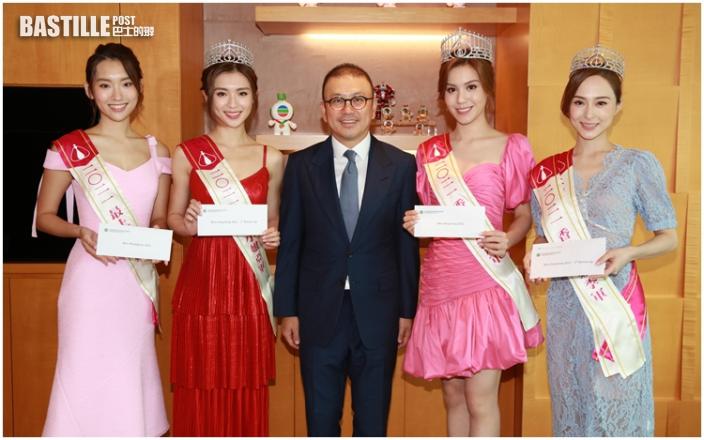 電視廣播有限公司主席許濤先生頒獎予出爐港姐