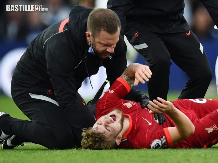 【英超】利物浦發聲明證實 哈維艾利洛需要做手術