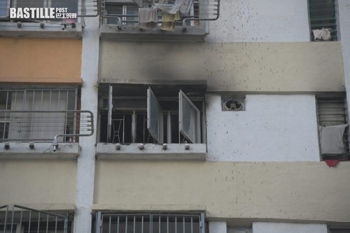 老翁疑飲早茶忘熄火 石硤尾邨單位起火130居民疏散