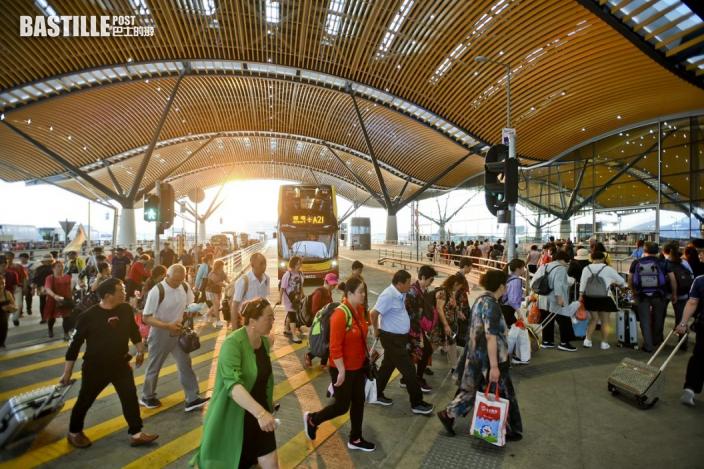 粵澳「來港易」明實施 非港人名額每天兩口岸各1000個