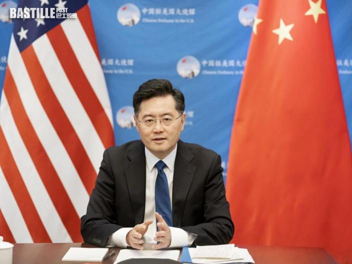 駐美大使秦剛盼美方勿阻兩國經貿合作