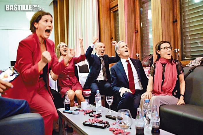 挪威大選左派擊敗保守執政黨