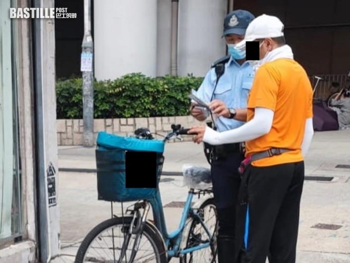 元朗警針對單車安全執法 3日發94張傳票