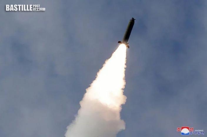 北韓朝日本海域發射不明飛行物