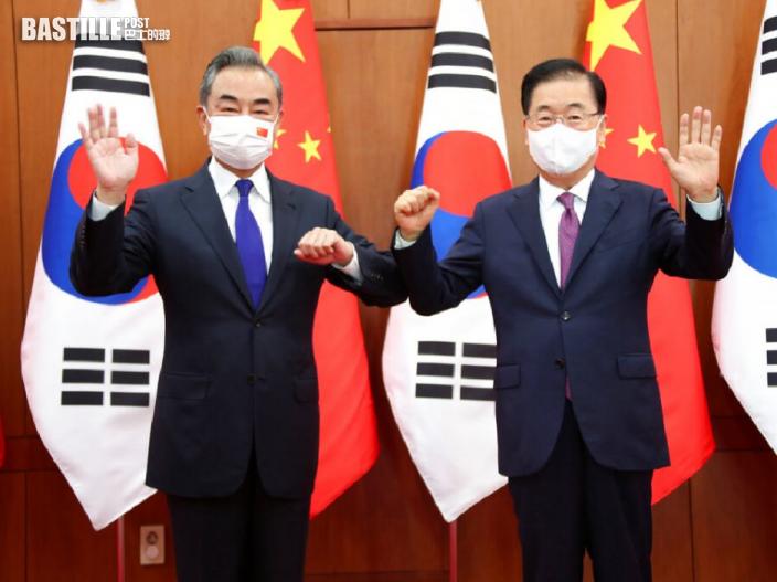 王毅讚星洲理性看待中國發展 晤韓外長盼關係升級