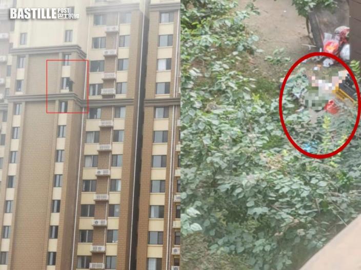 河北夫妻吵架 丈夫從29樓掟孩子落街並捅傷妻子