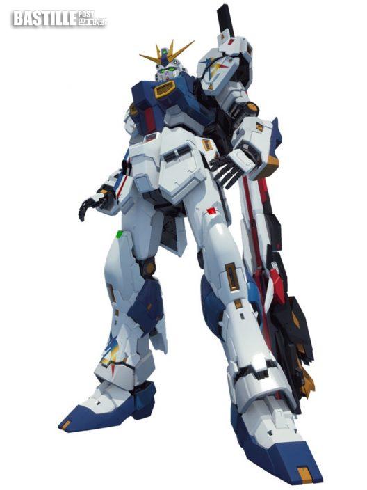 福岡商場將建1:1 Nu Gundam 預計明年春季完工