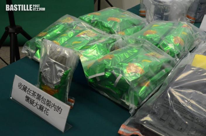 海關半月內破40宗販毒案撿5500萬貨 2人被捕包括15歲男學生