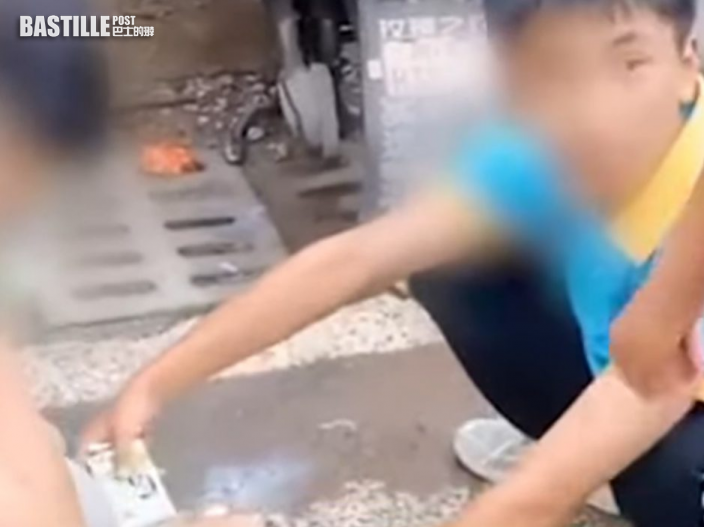 四川寄宿學校拒學生帶牛奶回校 無奈蹲路邊喝光惹議