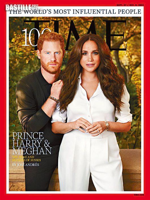 時代百大人物 哈里夫婦入選