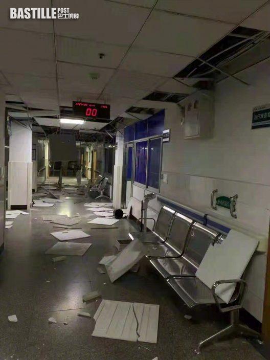 四川瀘州市6級地震 最少2死53傷