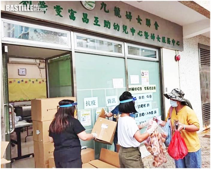 全國婦聯選委代表訪九龍婦女會幼兒中心 介紹政綱聽取意見
