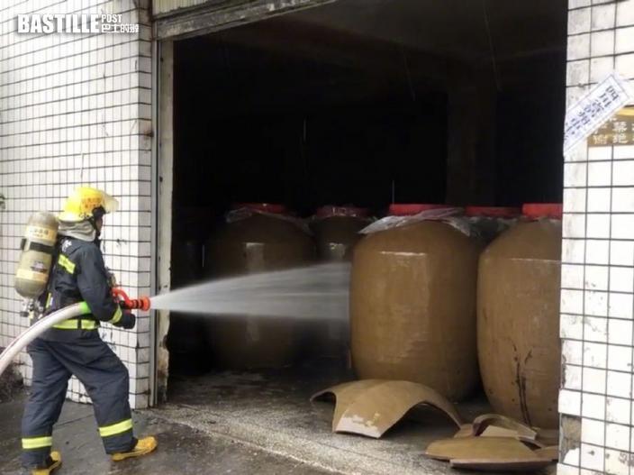 四川瀘州市6級地震 酒廠倉庫洩漏200噸高濃度白酒